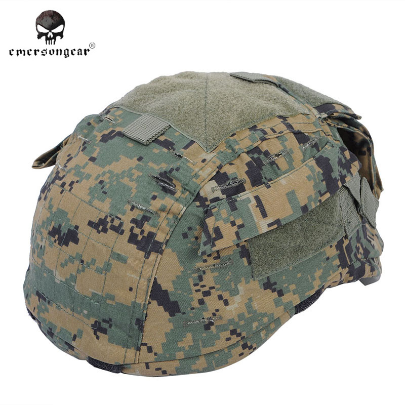 Emerson EM5628 Airsoft Tactical Helmet Cover for MICH 2001 Helmet Version 2 Army Helmet Cover Military Paintball Helmet Cloth